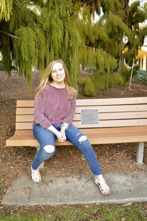 Scholarship recipient Madelyne Green
