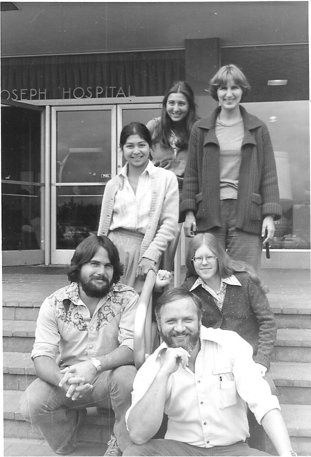 St. Joe's graduate nurses in 1978, including Robin Smith