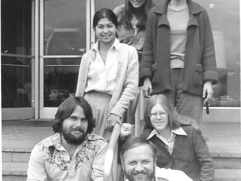 St. Joe's graduate nurses in 1978, including Robin Smith