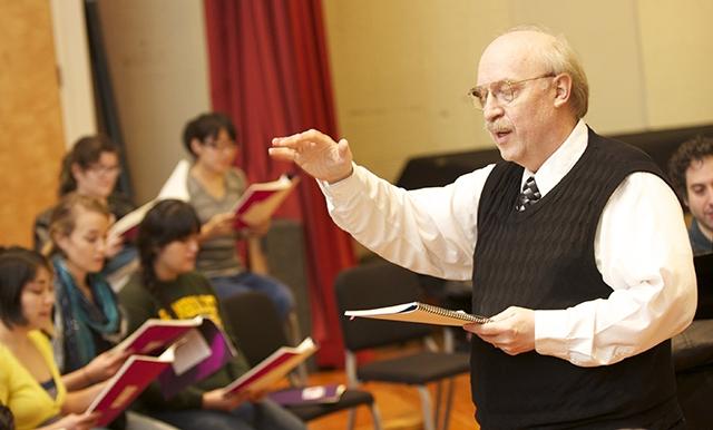 HSU Music Professor Harley Muilenburg