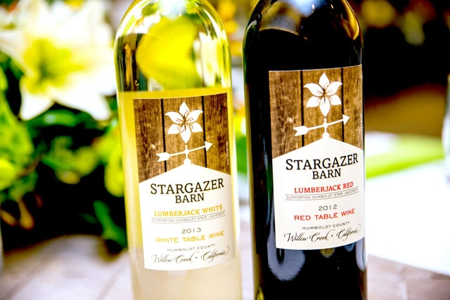 Stargazer Barns Winery's two new wines