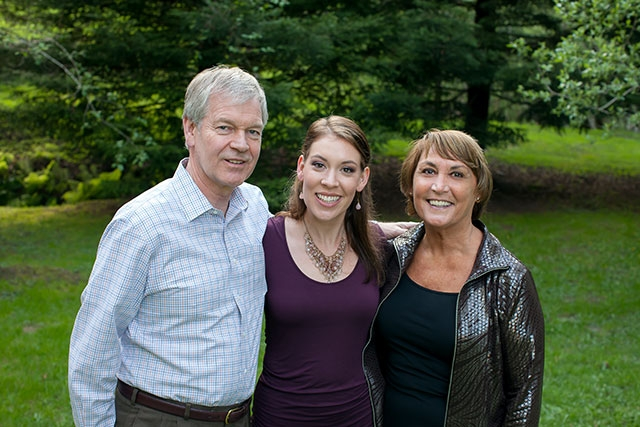 Parent donors Richard and Sandy Lambie with their Daughter Sarah
