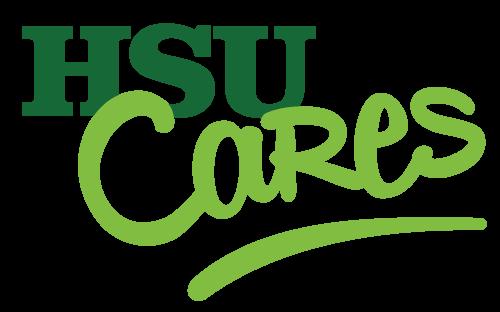 HSU Cares logo