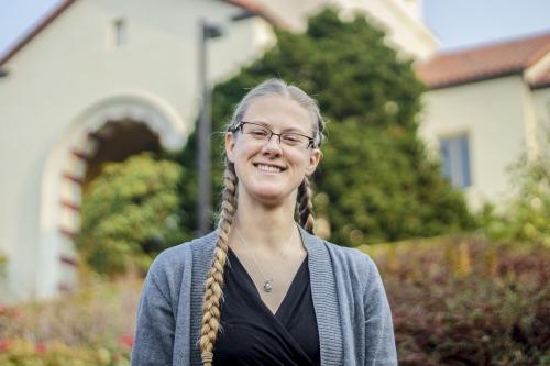 Scholarship recipient Kristina DeYoung